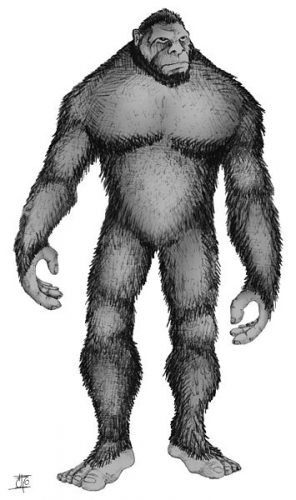 Bigfoot, Popelick Monster, and Dead Lover