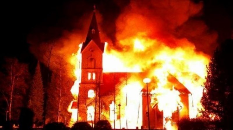 The Night Ten Thousand Churches Burned