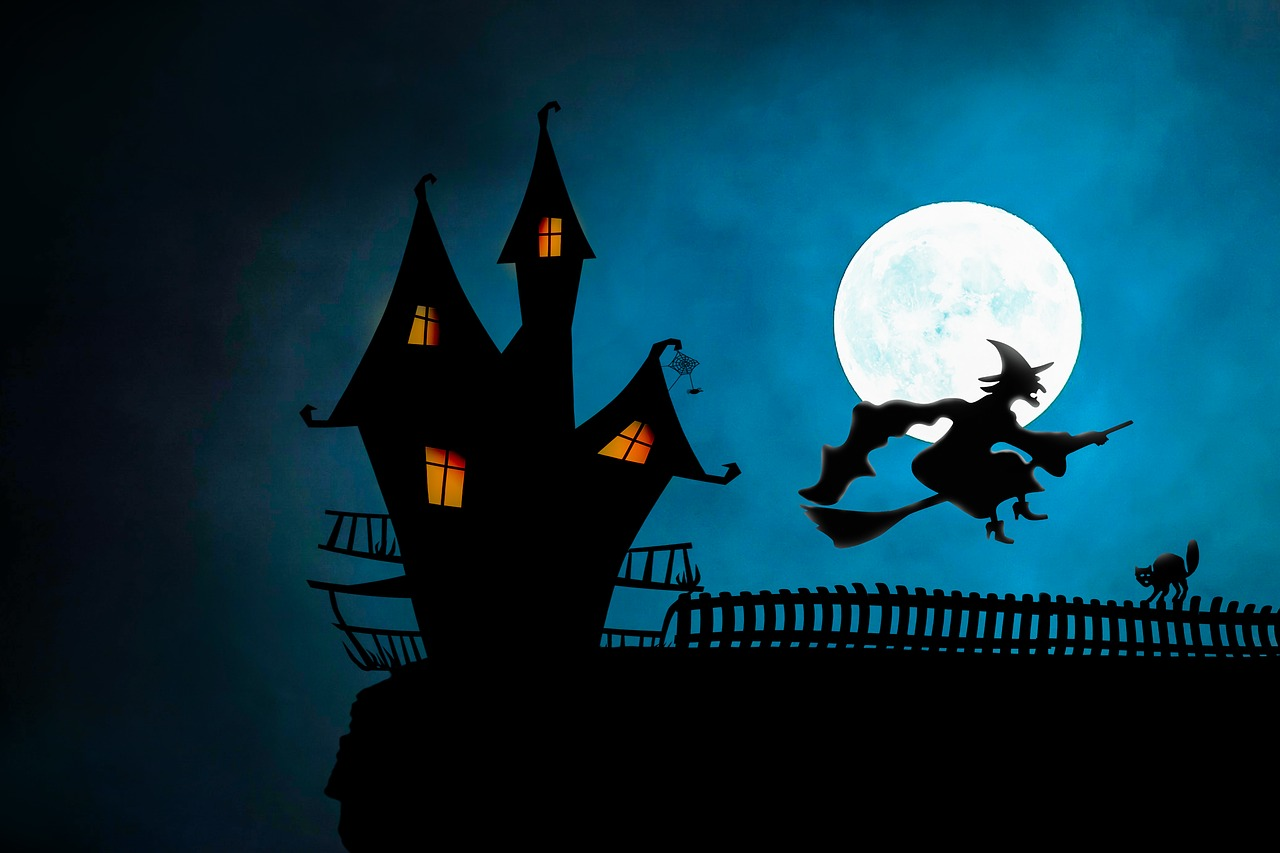 """""""A Hallow's Eve Scare"""" and Other Halloween Poems"""