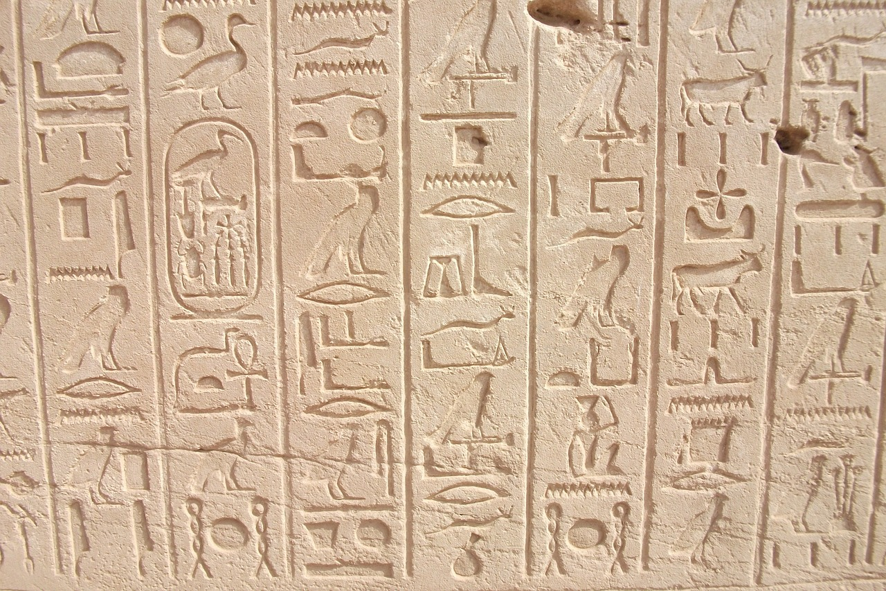Our Father Spoke in Hieroglyphs