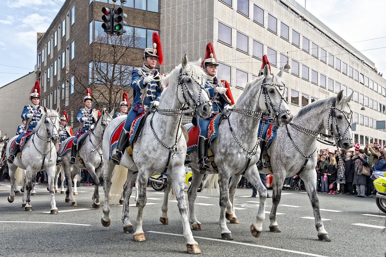 A Parade of Horses