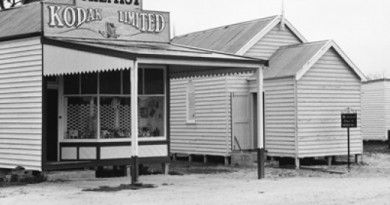Figure 1.4 Jeparit. Wimmera–Mallee Pioneers Museum, 1973 Photograph courtesy of the State Library of Victoria. John T. Collins, photographer.