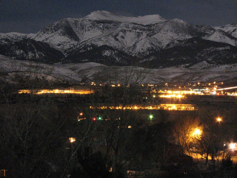 Mount Rose at Night