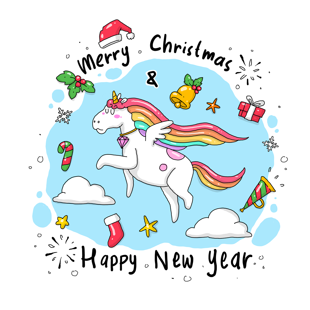 A Merry Christmas for Unicorn