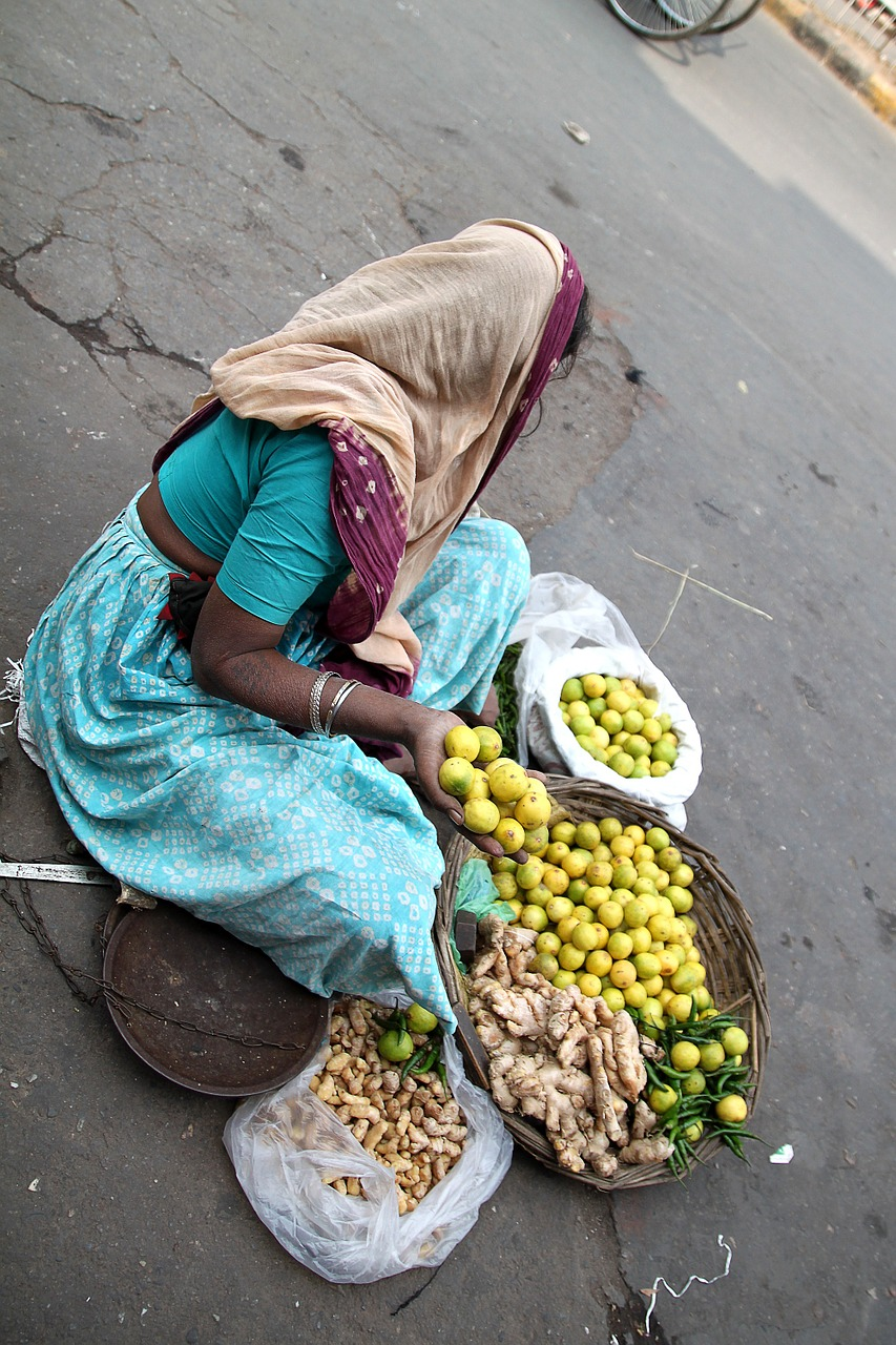 The old vegetable seller