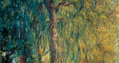 Weeping Willow Tree Sonnet – Claude Monet Series