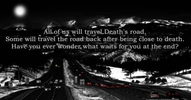 Death's Door, A Poem Of One Mans Journey