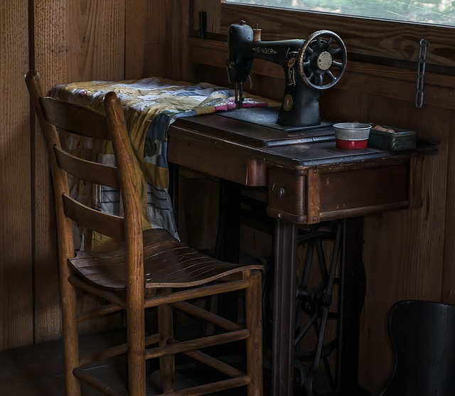 Treadle Sewing Machine and an Antique Store