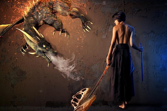 mythical dragons