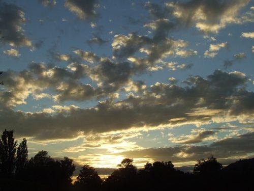 Golden, Clouds