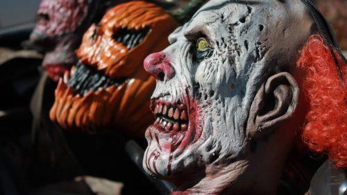 arriving Halloween night