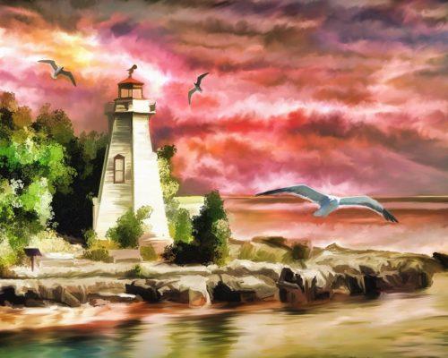 lighthouse sonnet