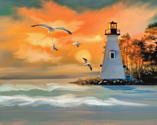 lighthouse sonnet