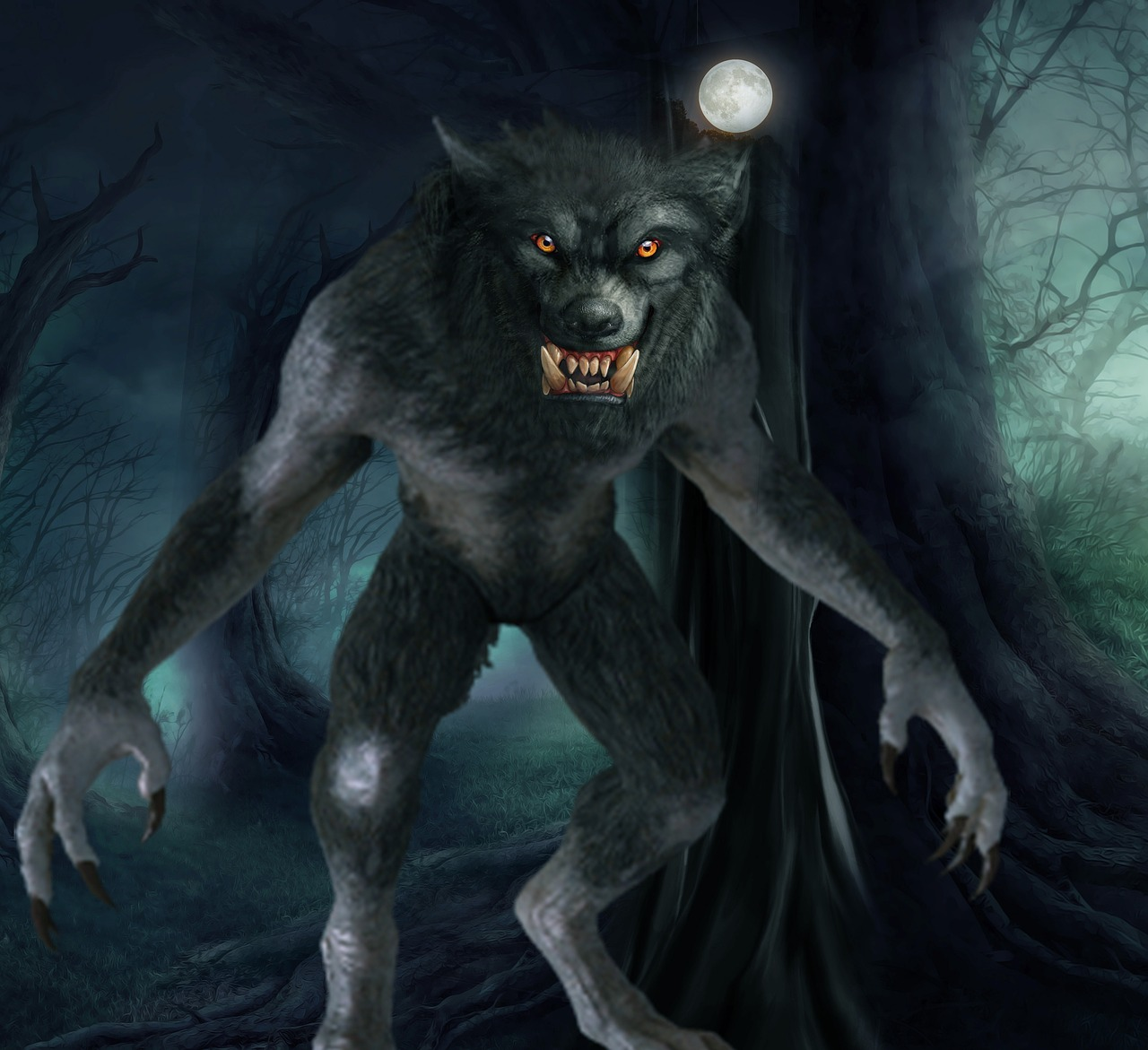 Rougarou the Louisianna Werewolf
