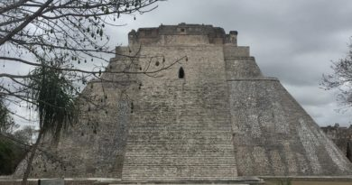 Revisiting the Pyramid of the Magician in Uxmal