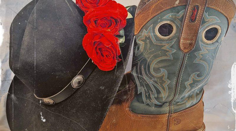 cowboy and his rose