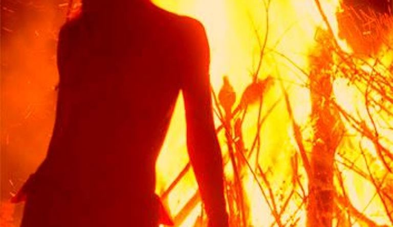 fire woman