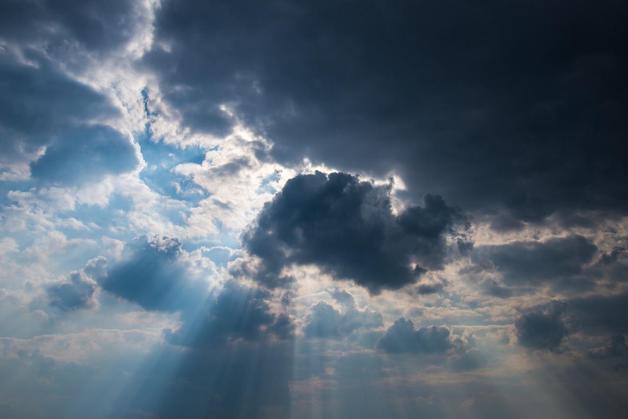 When the dark clouds come